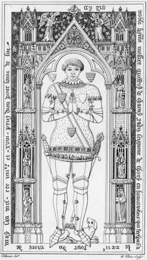 rycerz Geoffroi de Charny